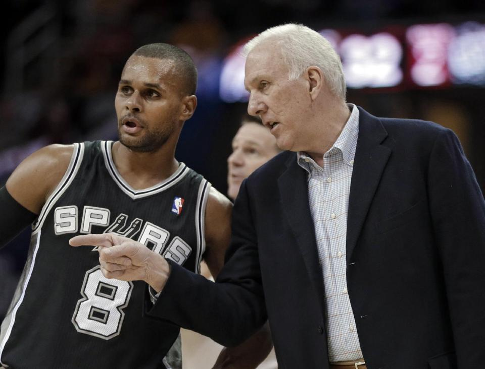 the spaced out nba champion san antonio spurs